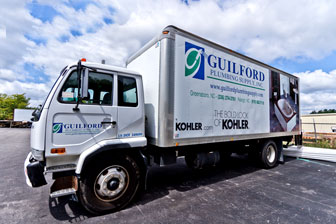 Guilford Plumbing Supply delivery truck