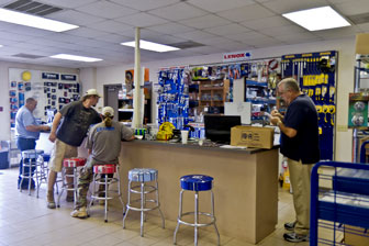 Guilford Plumbing Supply counter sales